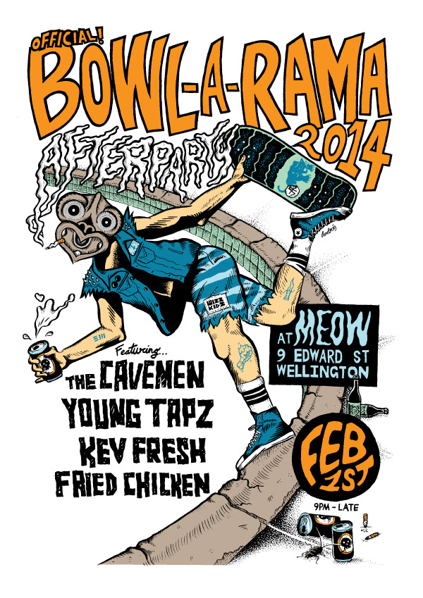 Bowl-a-rama-2014-Afterparty-poster