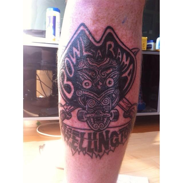 bowl a rama tattoo